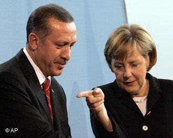 Эрдоган и Меркель