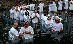 крещение в Иордане